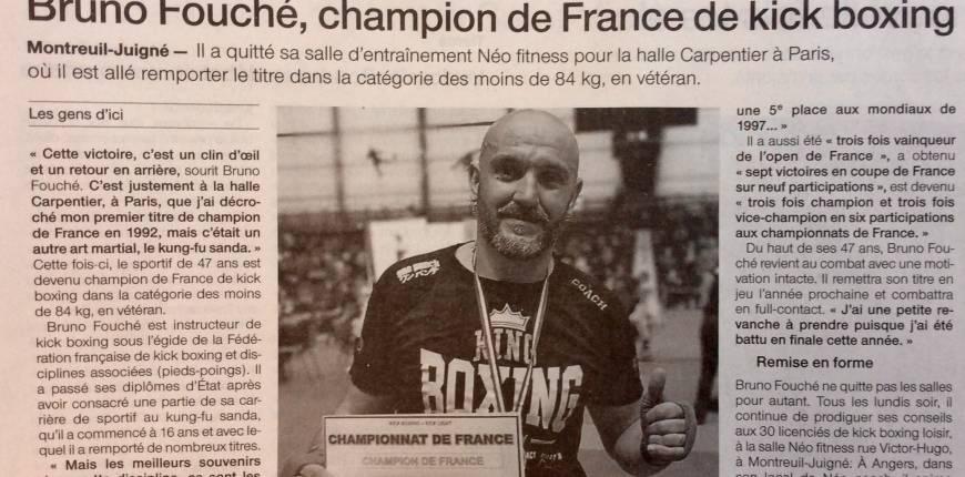 Votre coach Champion de France de Kick Boxing